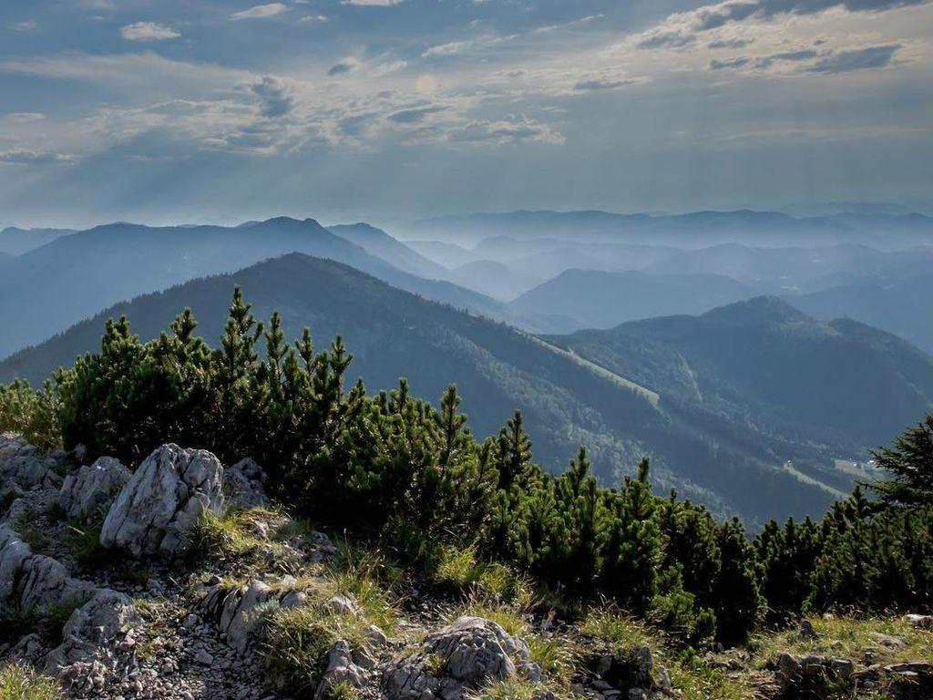 Patung Alat Kelamin Misterius di Puncak Gunung Austria
