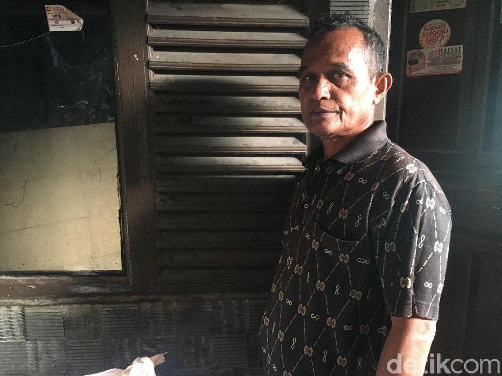 Syarifudin Cerita Detik-detik Tembok Rumahnya di Luar Batang Jebol