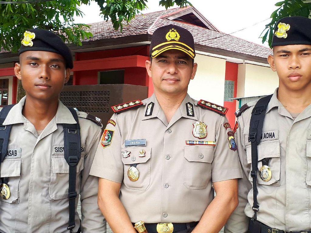 Perkenalkan, Ini Dia Dua Siswa Polisi di Pekanbaru yang Hafiz Alquran
