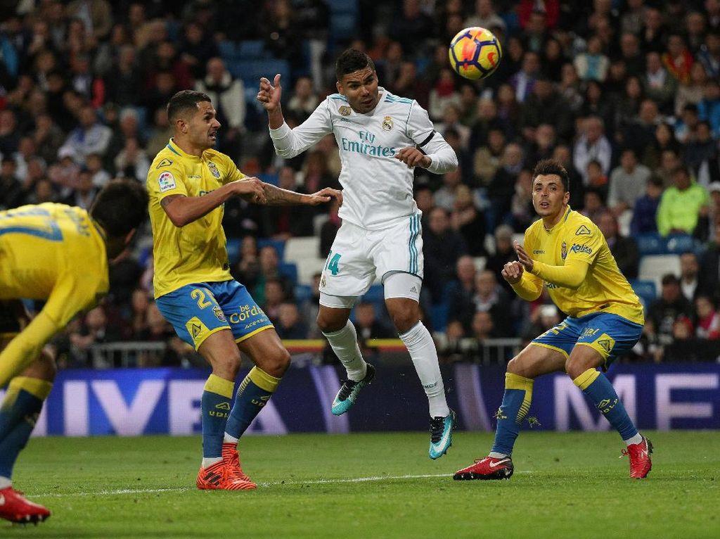 Madrid Atasi Las Palmas 3-0