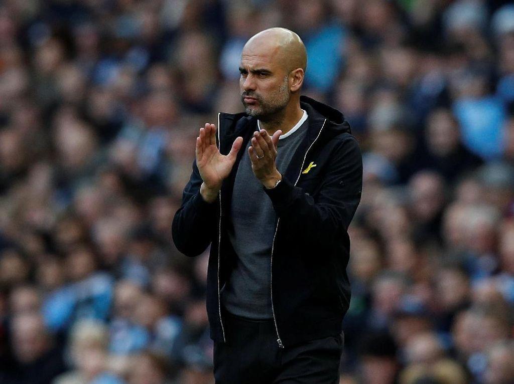 Guardiola: City Tak Bisa Berpikir Pasti Juara Liga
