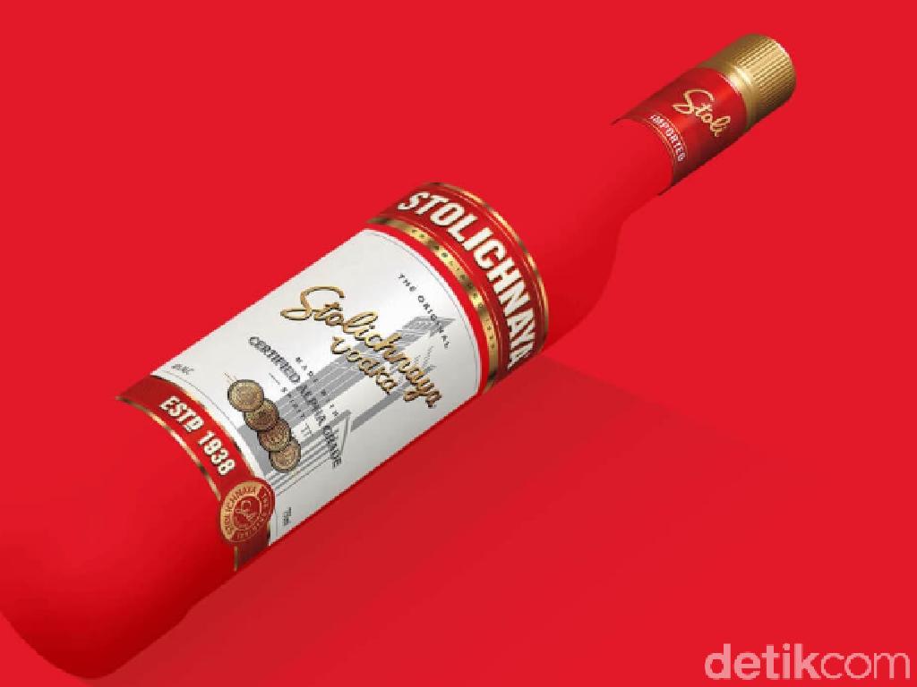 Ribut Luksemburg Vs Rusia di Brasil tentang Merek Vodka
