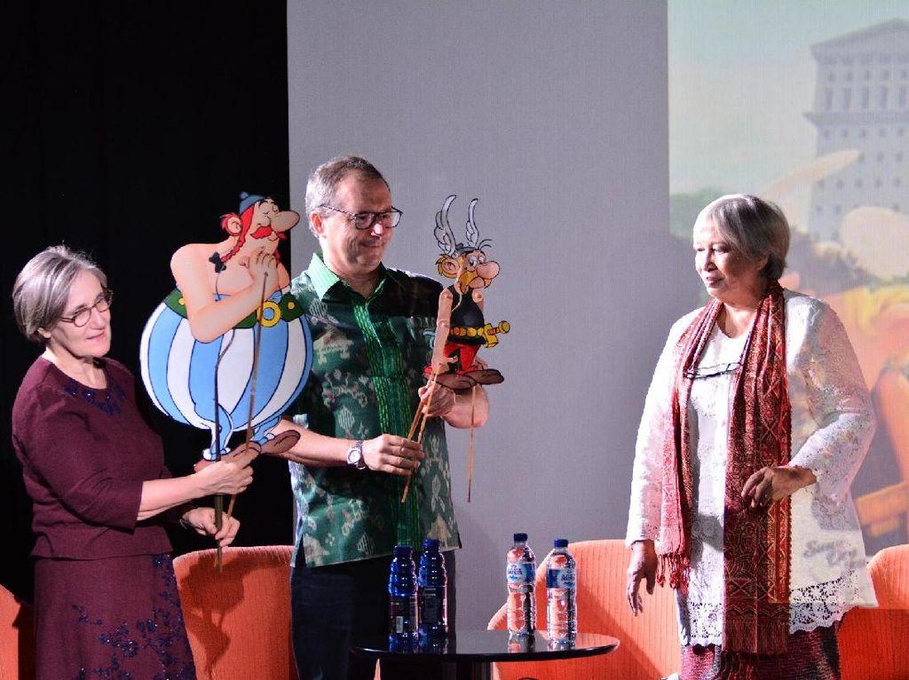 IFI Jakarta Sukses Rayakan Karya Ilustrator Prancis Rene Goscinny
