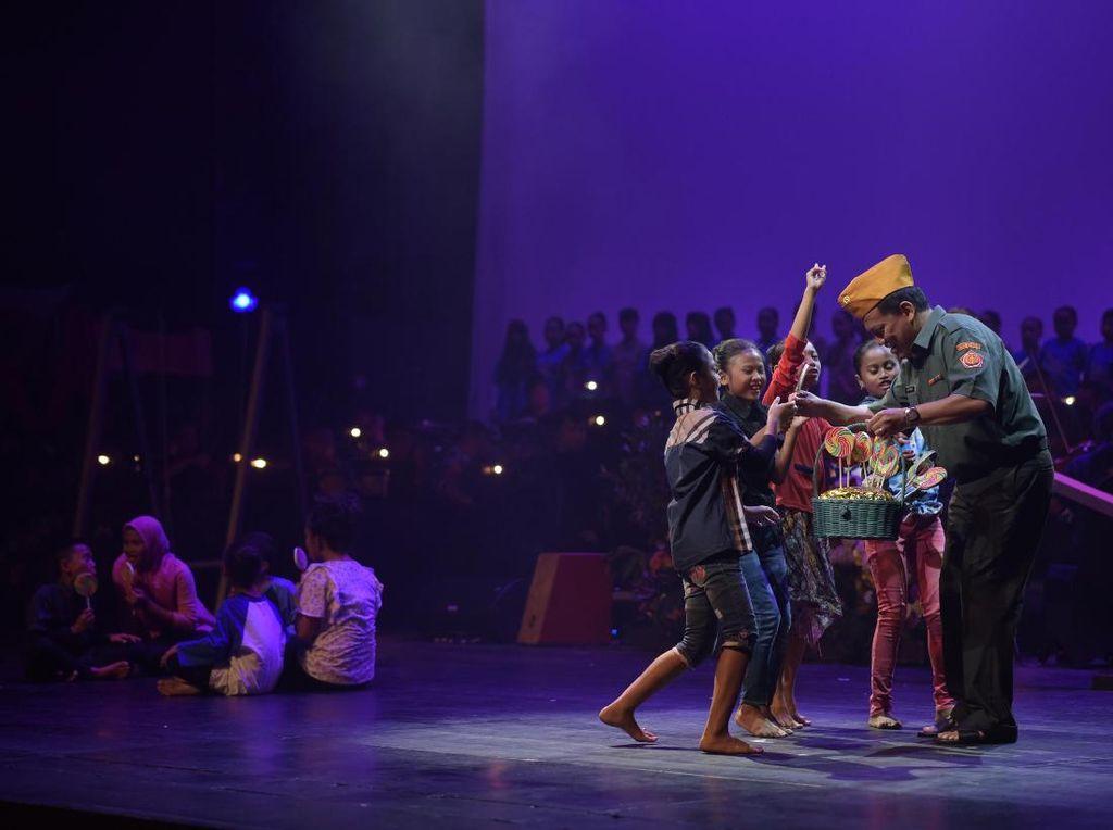 Digelar Hari Ini, Begini Susahnya Urus Ratusan Anak Rusun Main Operet