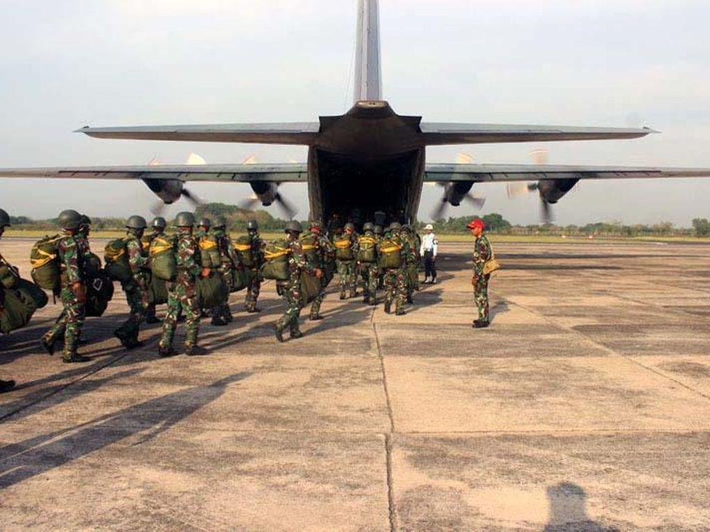 Operasi Linud Yonif Para Raider 501 Kostrad