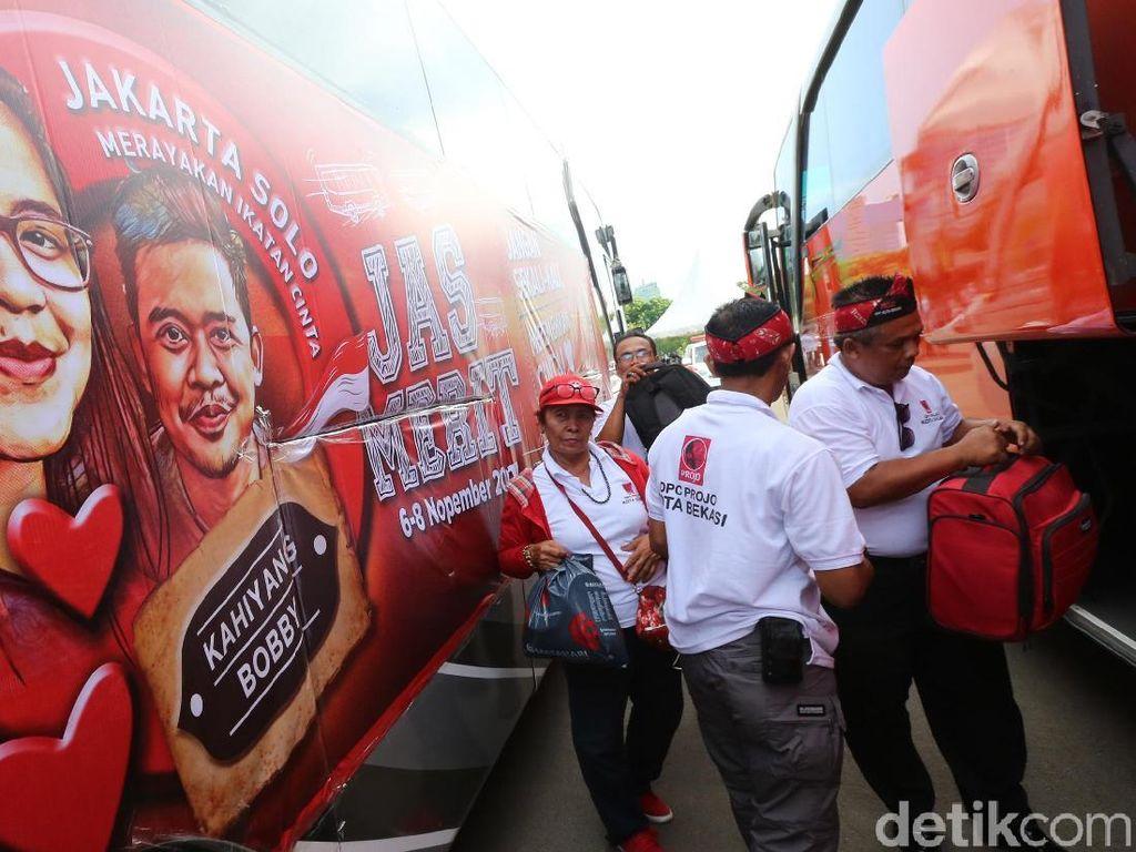 1.200 Relawan Projo Jas Merit ke Pernikahan Kahiyang-Bobby