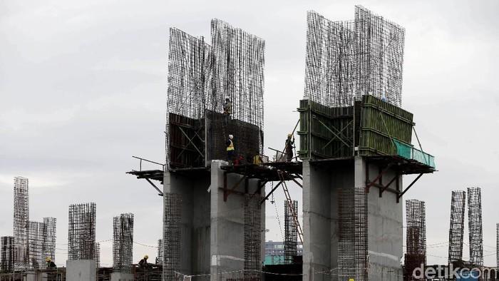 Progres pembangunan Rumah Susun Sewa Tingkat Tinggi (RTT) Pasar Rumput terus dikebut. Rencananya proyek tersebut akan selesai pada akhir 2018.