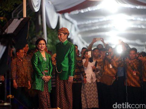4 Pesan Penting Jokowi untuk Kahiyang Ayu dan Bobby dikala Midodareni