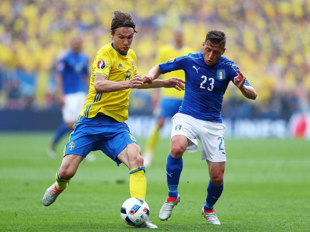 Swedia Sebut Italia Favorit, tapi Yakin Bisa Lolos