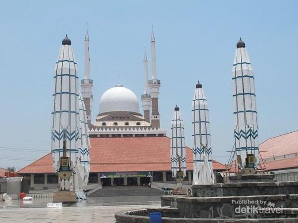 Masjid Agung Semarang Jawa Tengah yang Punya 5 Keunikan