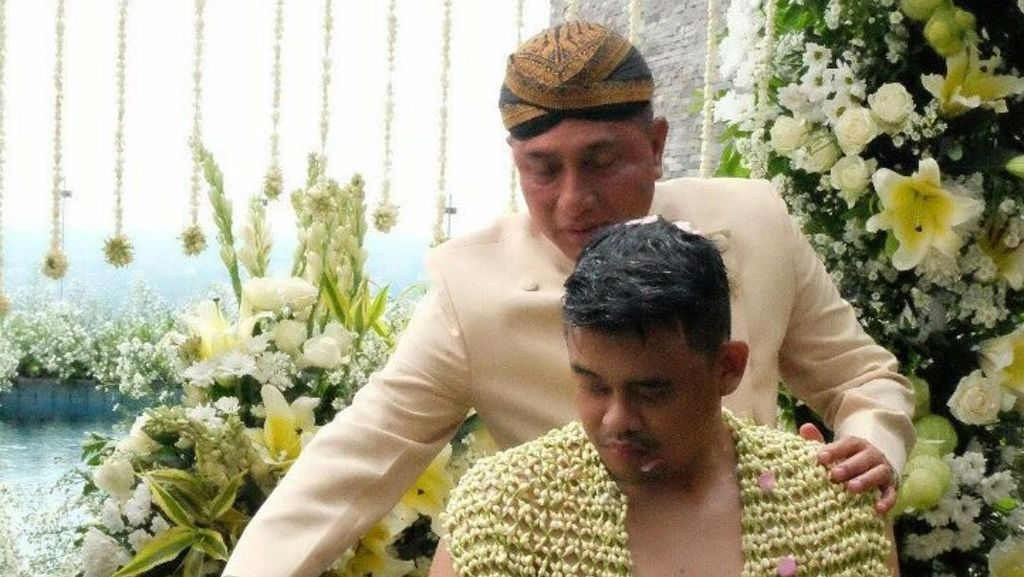 Pangkostrad Letjen Edy Ikut Sirami Calon Menantu Jokowi