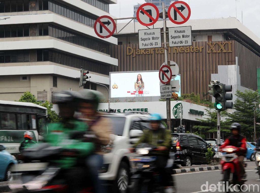 Larangan Motor di Sudirman-Thamrin Dicabut Bikin Pemotor Untung