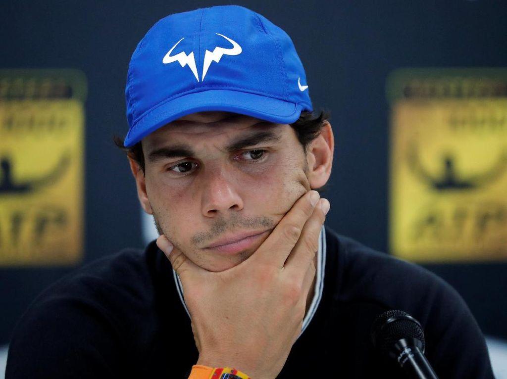 Ketika Nadal Dicegat Petugas Keamanan Paris Masters