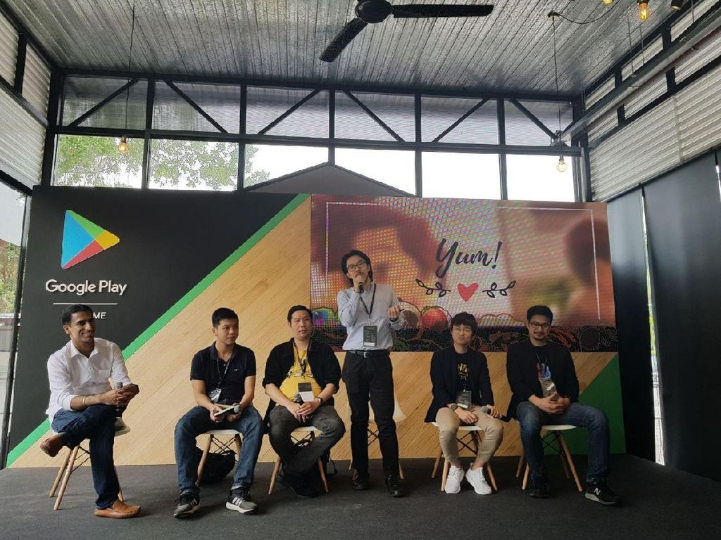 Developer Indonesia Jadi Bintang Google Playtime Singapura