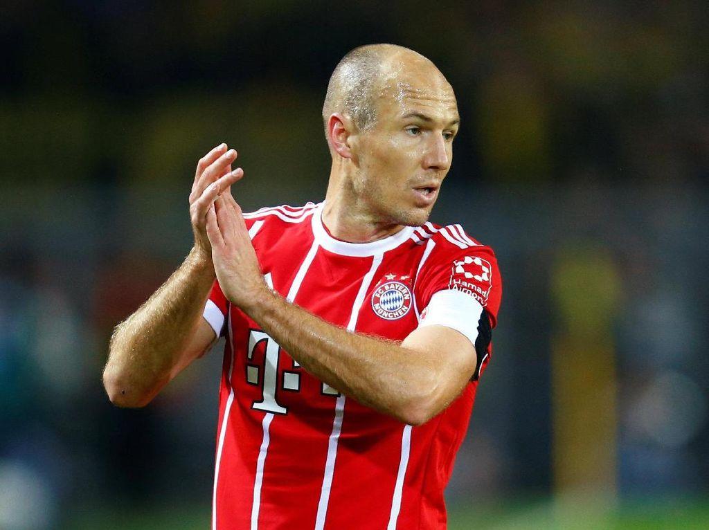Robben Gelisah Menanti Kontrak Baru