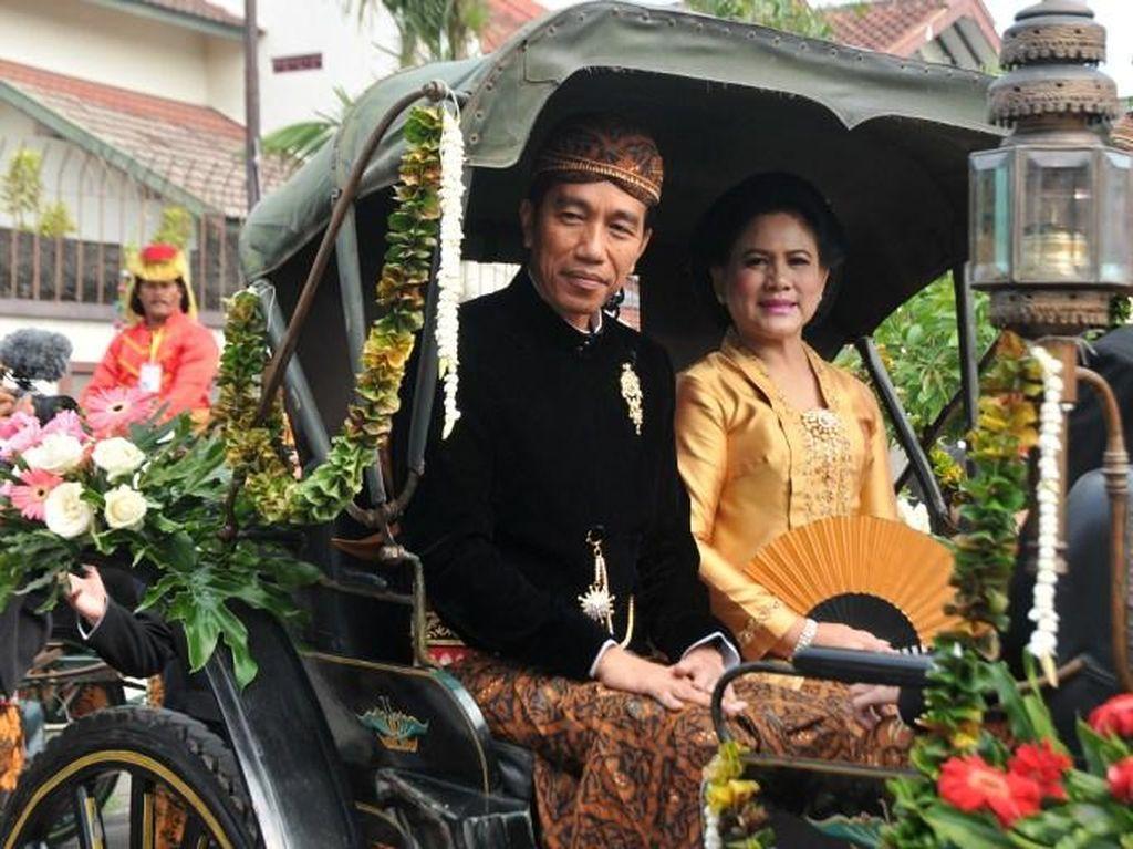 Foto: Gaya Cetar Iriana Jokowi Sepanjang 2017