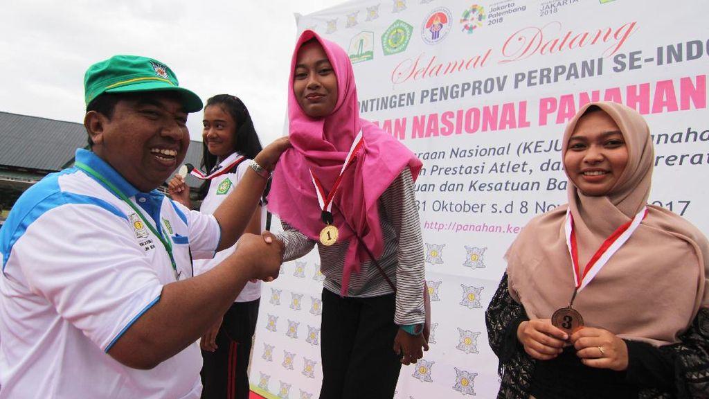Jawa Timur Juara Umum Kejurnas Panahan di Banda Aceh