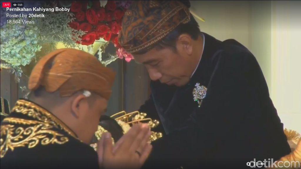 Begini Rangkaian Prosesi Panggih di Nikahan Putri Jokowi