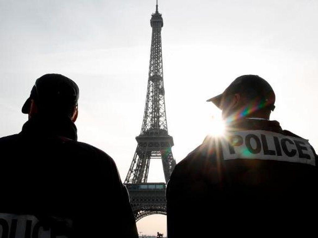 10 Orang Ditangkap dalam Operasi Antiteror Prancis dan Swiss