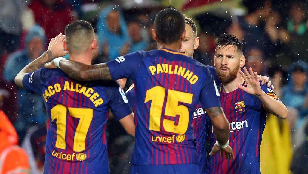 Mencoloknya Messi dalam Statistik Barcelona Awal Musim Ini