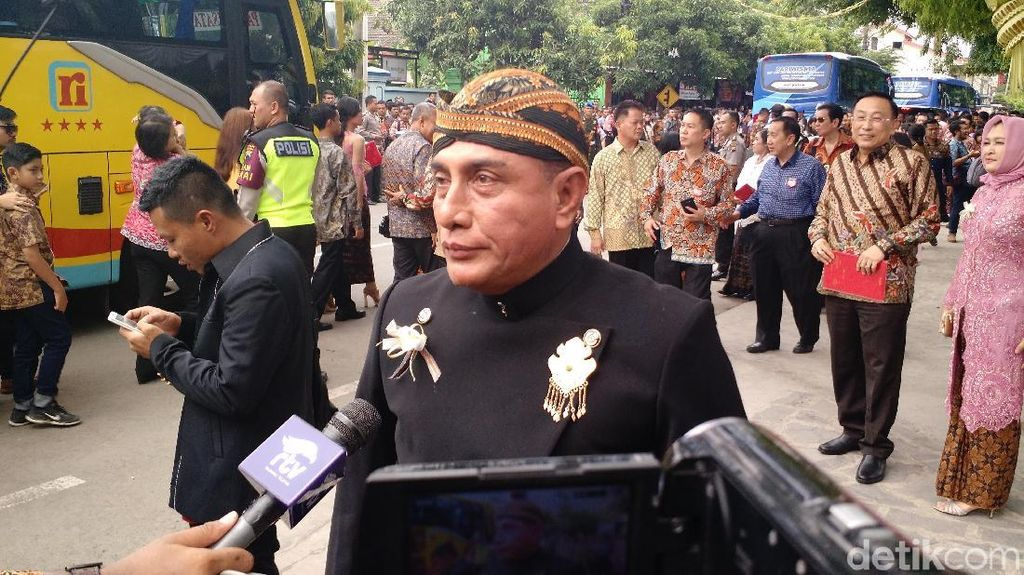 Pangkostrad: Pernikahan Kahiyang-Bobby Benar-benar Indonesia