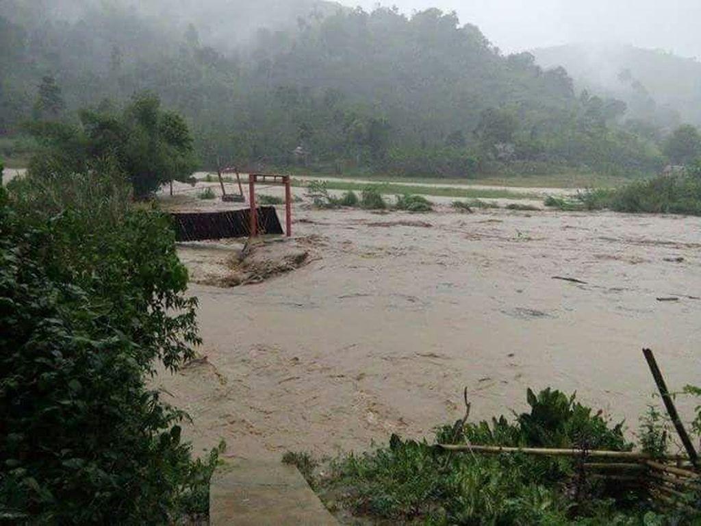 Oku Selatan Diterjang Banjir, Satu Orang Dinyatakan Hilang