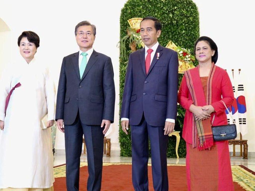 Jokowi ke Jae-in: Saya Titip Pekerja RI
