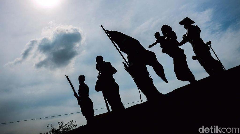Duh, Monumen Perjuangan di Senen ini Nggak Terawat