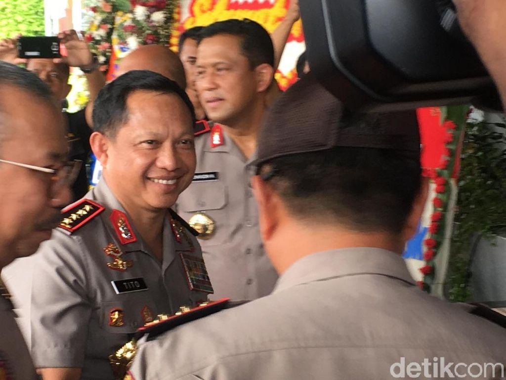 Marsekal Hadi Jadi Panglima, Kapolri Optimis TNI-Polri Semakin Baik