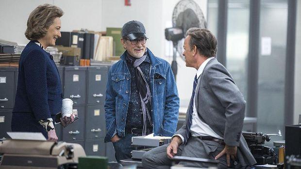Lika-liku Steven Spielberg Menggarap 'The Post'