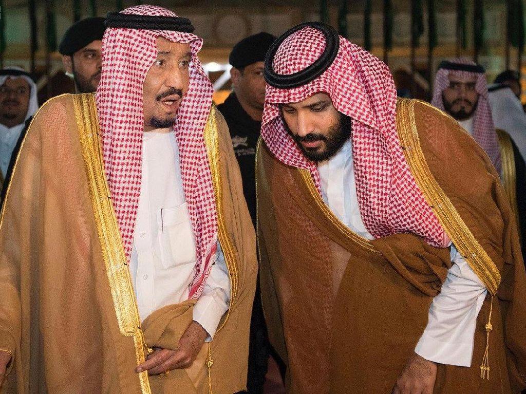 Ada Gesekan Antara Raja Salman dan Putra Mahkota? Ini Kata Arab Saudi