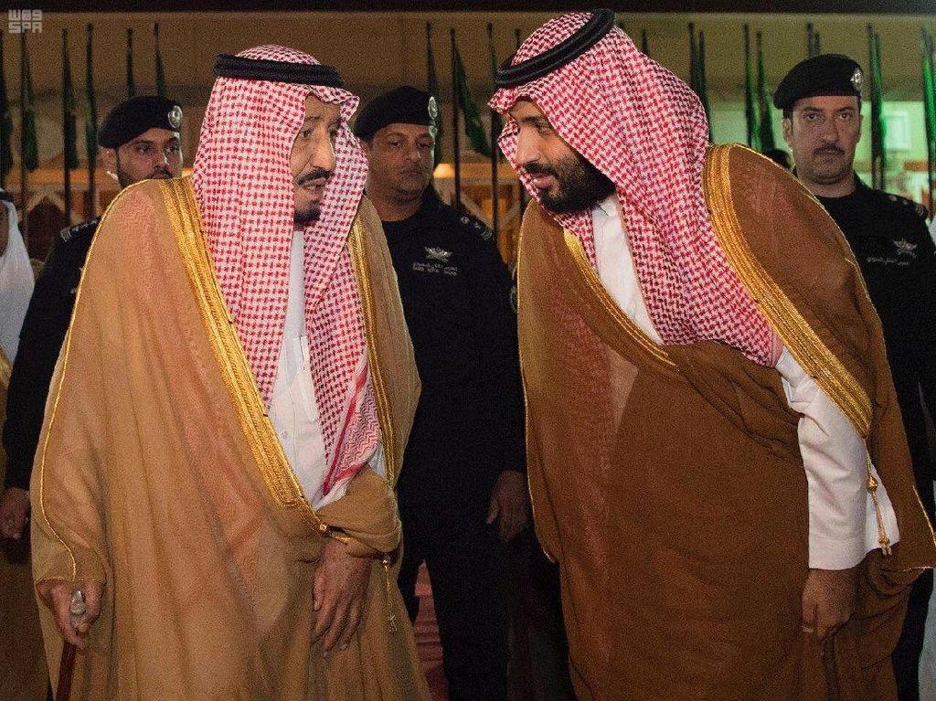 Raja Salman dan Putra Mahkota Beda Pendapat Soal Sudan dan Aljazair
