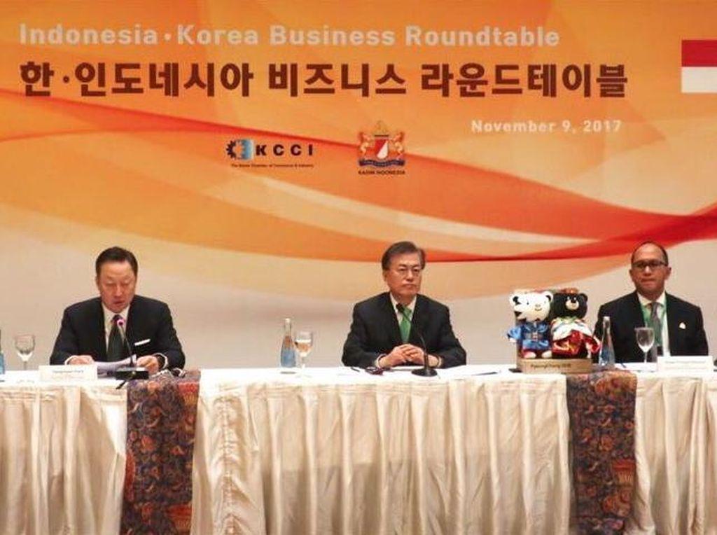 Bahas Bisnis dan Investasi, Presiden Korsel Bertemu Pengusaha RI