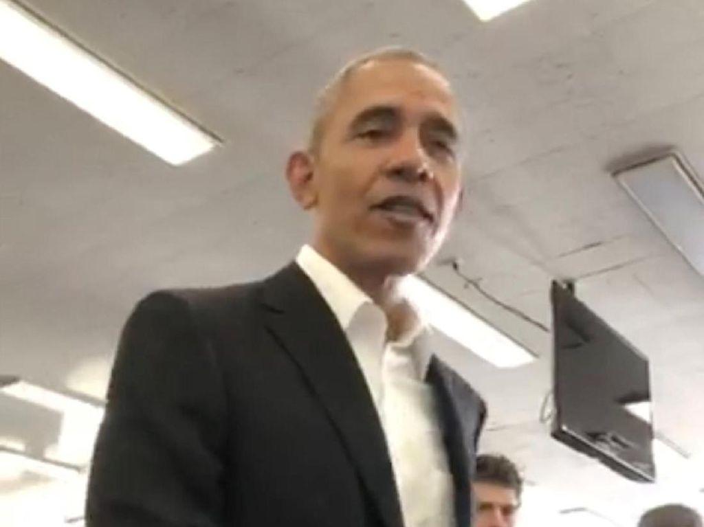 Foto: Saat Obama yang Hendak Jadi Juri Malah Disuruh Pulang