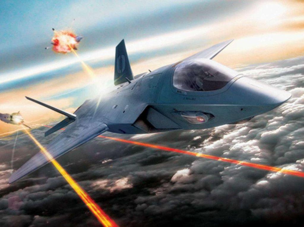 Angkatan Udara AS Sukses Uji Coba Senjata Laser