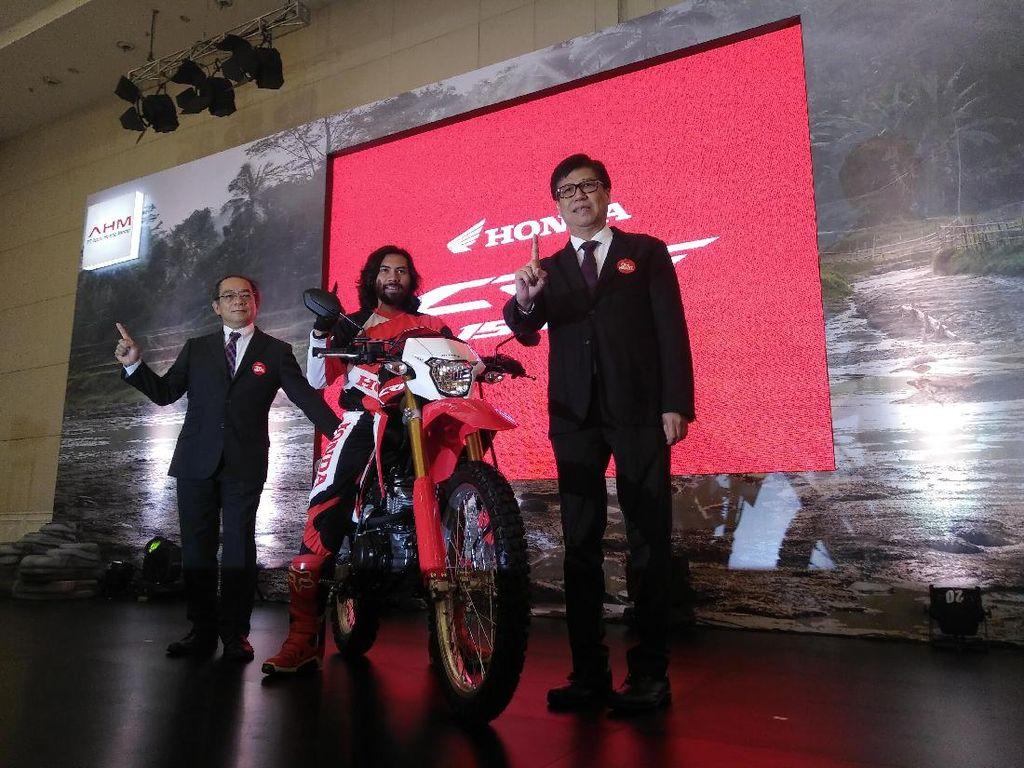 AHM Targetkan Jual Ribuan Motor Trail Honda CRF150L