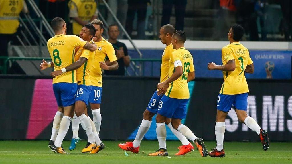 Ini 15 Pemain yang Pasti Masuk Skuat Brasil di Piala Dunia 2018