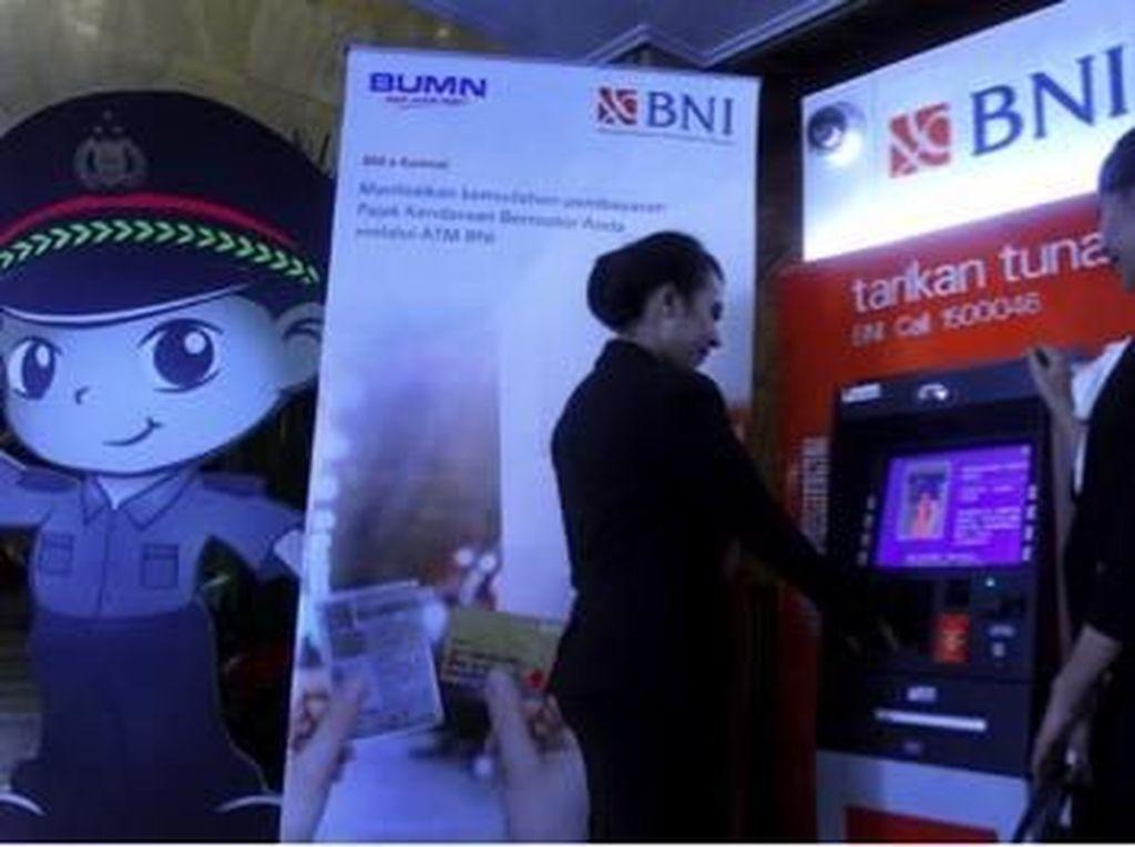 Kini Nasabah BNI di 7 Provinsi Bisa Bayar PKB Secara Online
