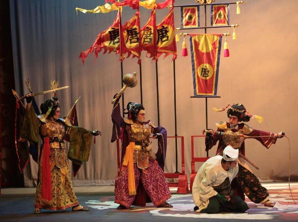 Istirahat Awal Tahun Depan, Produksi ke-151 Teater Koma tentang Mahabarata