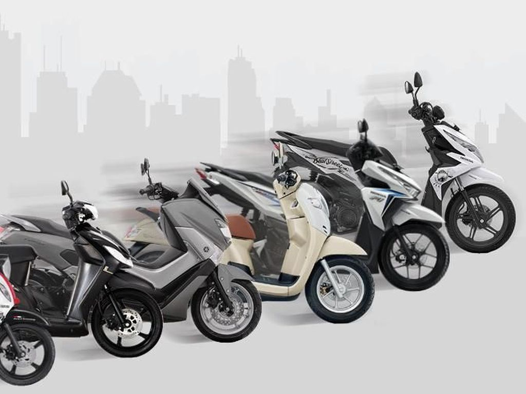 10 Motor Terlaris Bulan April 2018
