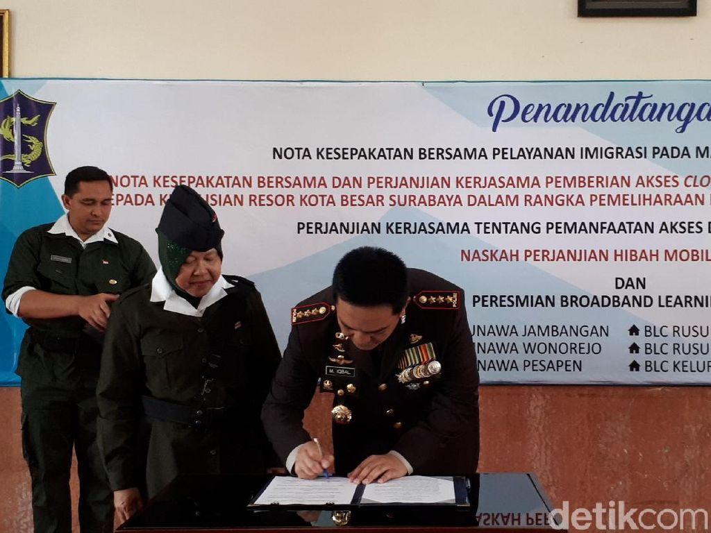 Pemkot Surabaya Buka Akses 1.000 CCTV ke Polisi