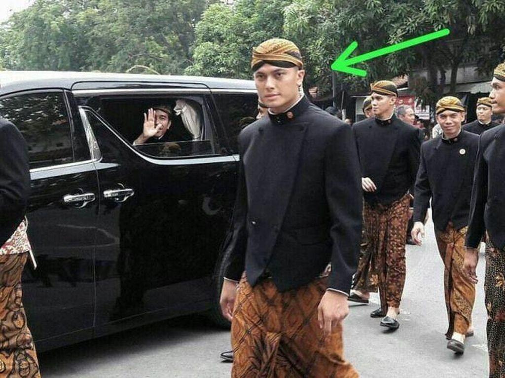 Busana Paspampres Saat Amankan Jokowi: Jas, Batik, hingga Beskap