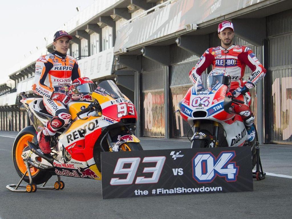 Calm Before The Storm: Marquez vs Dovizioso