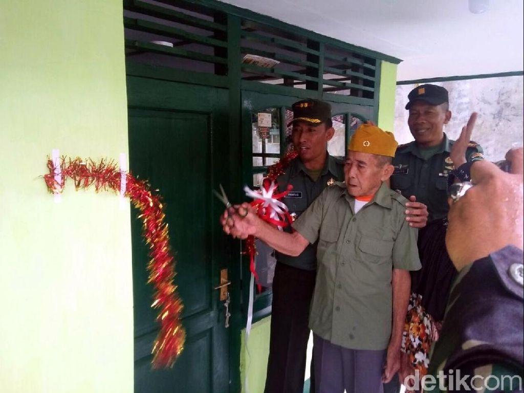 Hari Pahlawan, Dandim Sukabumi Bedah 16 Rumah Veteran