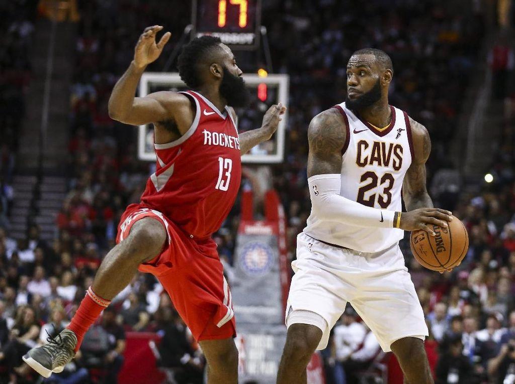Kilau Harden untuk Rockets Ketika Ungguli Cavs-nya LeBron