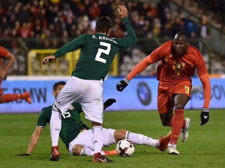 Belgia vs Meksiko Sama Kuat 3-3