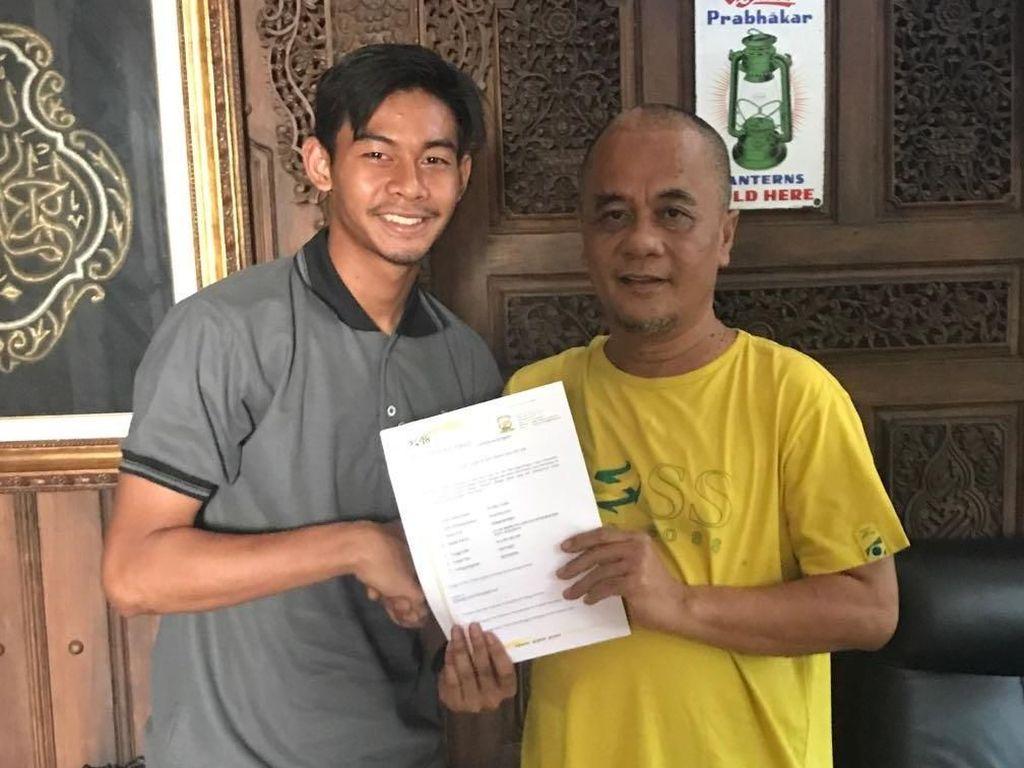 Madura United Resmi Rekrut Satria Tama