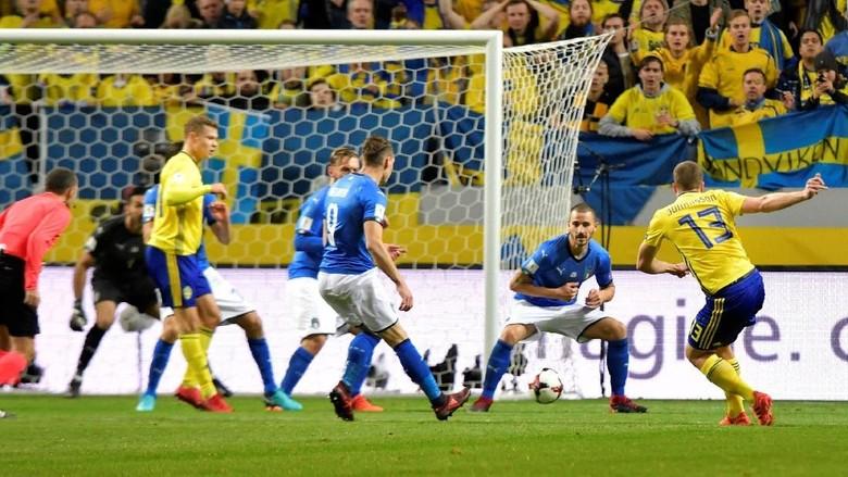 Swedia Taklukkan Italia 1-0