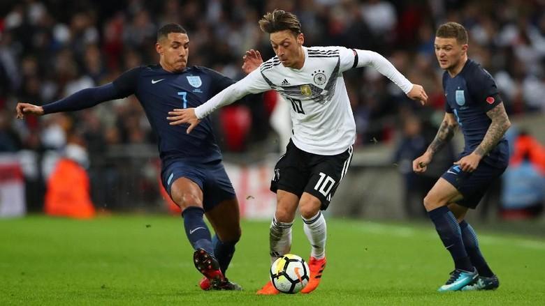 Inggris vs Jerman Berkesudahan Tanpa Gol