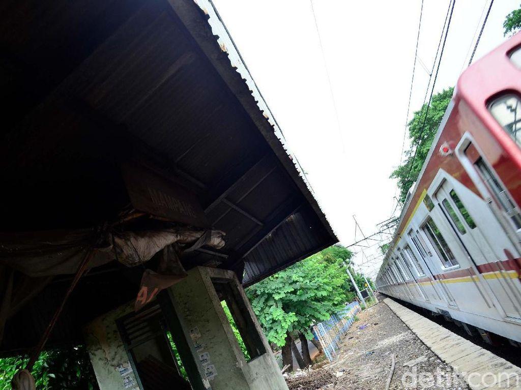 Foto: Stasiun Mampang Nasibmu Kini